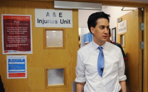Ed Miliband must nurse relations with his party.