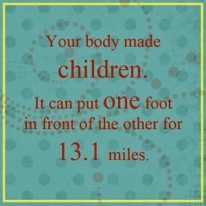Half Marathon Quotes