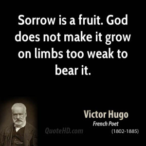 Victor Hugo Faith Quotes...
