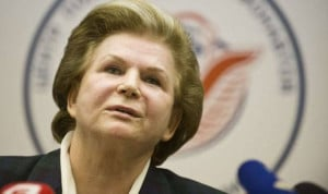 Valentina Tereshkova as of today, at age 76