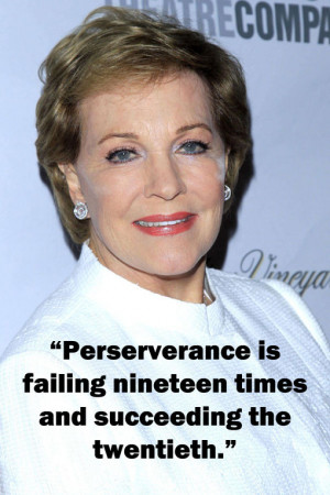 Famous Quotes From Julie Andrews