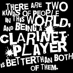 Clarinet Player Funny