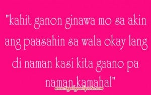 Sad Break Up Love Quotes Tagalog ~ Break Up quotes or Love in Second ...