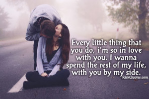 Im So In Love With You Quotes I'm so in love with you.