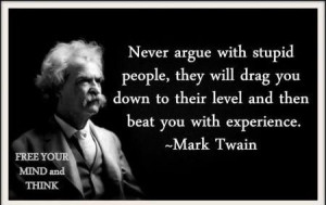 quote quotes stupid Mark Twain