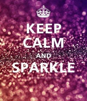 glitter, keep calm, pink, sparkle
