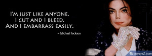 Michael Jackson Quotes Facebook Cover