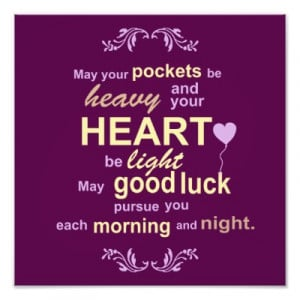 Good Luck Poems Quotes
