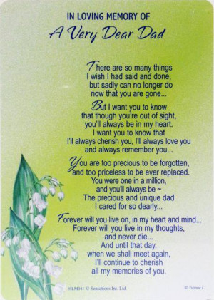 ... dad in heaven personalized dad poem birthday fathers day for those in