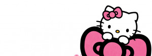 Pink Hello Kitty Timeline Design Preview