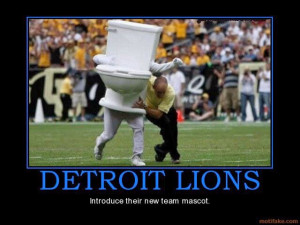 detroit lions introduce their new team mascot.