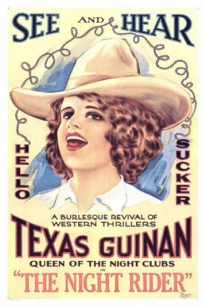 Texas Guinan Stone Lithograph
