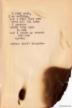 Tyler Knott Gregson's photos | We Heart It