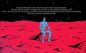 watchmen dc comics quotes dr manhattan 1920x1200 wallpaper Movie ...