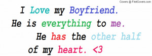 Love Quotes For Your Boyfriend For Facebook