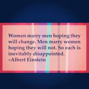 funny #men #AlbertEinstein #women