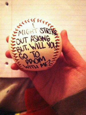 Cute Prom Proposal Ideas
