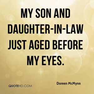 Son And Daughter In Law Quotes