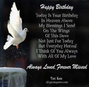 my mom in heaven pictures | Happy Birthday .. Today Is Your Birthday ...
