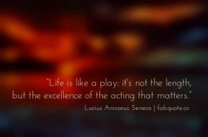 Seneca life quote