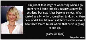 More Cameron Diaz Quotes