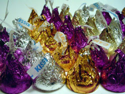 Photo - Assorted Hershey's Kisses for Chocolate Quotes and Jokes
