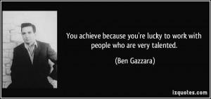 More Ben Gazzara Quotes