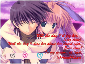 Anime Love Quotes Pictures