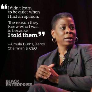 Ursula Burns, Xerox Chairwoman & CEO