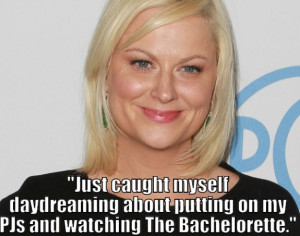Amy Poehler Daydreaming