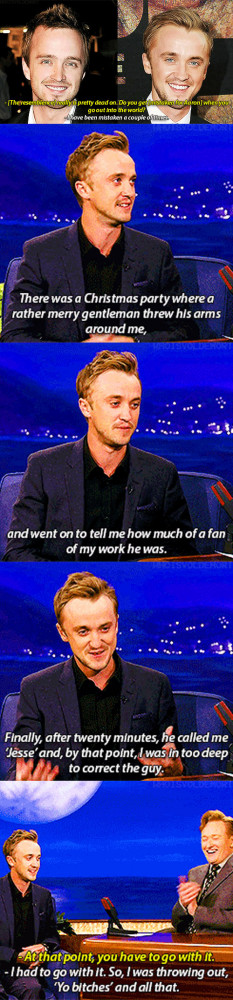 Aaron Paul vs. Tom Felton