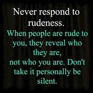 rudeness Randommusings.filminspector.com