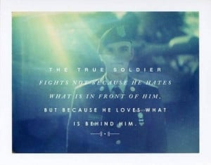 Loving a deployed soldier quotes