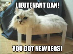 Lieutenant Dan....