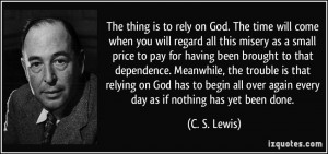 More C. S. Lewis Quotes