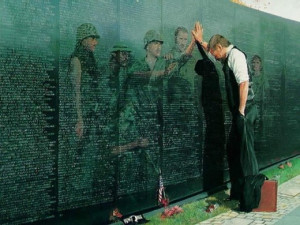 ... Vietnam War Memorial Commemorating the Loss of 58,152 Souls in the War
