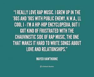 Rap Quotes About Love...
