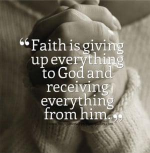 Faith Quotes Pictures Trust Inspirational Motivational