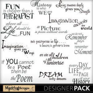 ... inspiring quotes! #MandogScraps #DIY #Craft #Scrapbook #Scrap Quotes