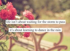 rain, cute dancing, dance quotes