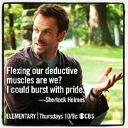 Slideshow Fun 'Elementary' Memes: Some of Holmes' Funniest Quotes
