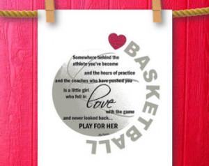 Basketball Decor, Sports Decor, Spo rts Nursery, Framed Quotes Print ...