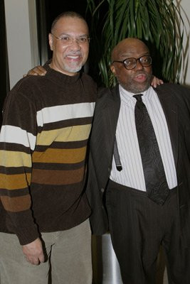 Stanley Crouch and Warrington Hudlin at event of Baadasssss! (2003)