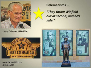 Jerry Coleman Baseball Quote