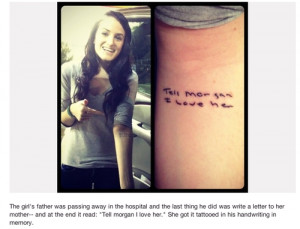 Father Daughter Tattoo Quotes