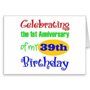 Funny 40th Birthday Gift Greeting Card