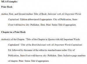 Mla Citation Page Alphabetical Order