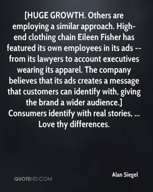 ... wider audience.] Consumers identify with real stories, ... Love thy