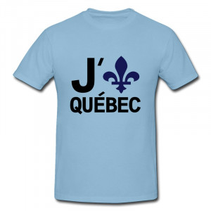 Design Slim Fit Tee Quebec fun Couples quotes T-Shirts O-Neck Tees ...