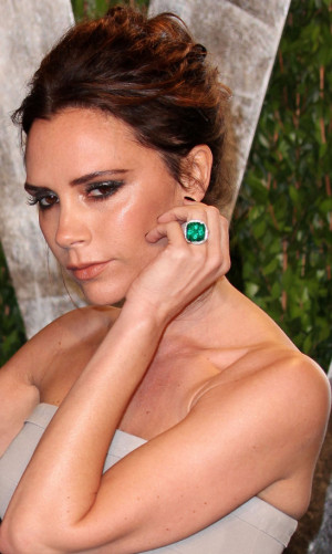 Victoria Beckham (on her autobiography): ?It's straight from the horse ...